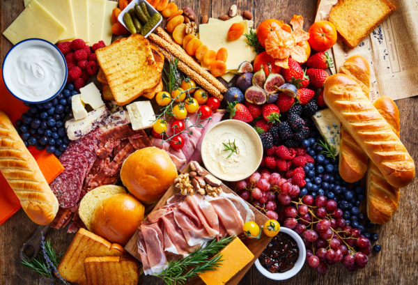 St Pierre Mother's Day Recipe Ideas - Lunch Platter Full of Food