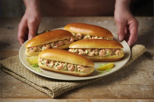 St Pierre Crayfish Dogs in a plate