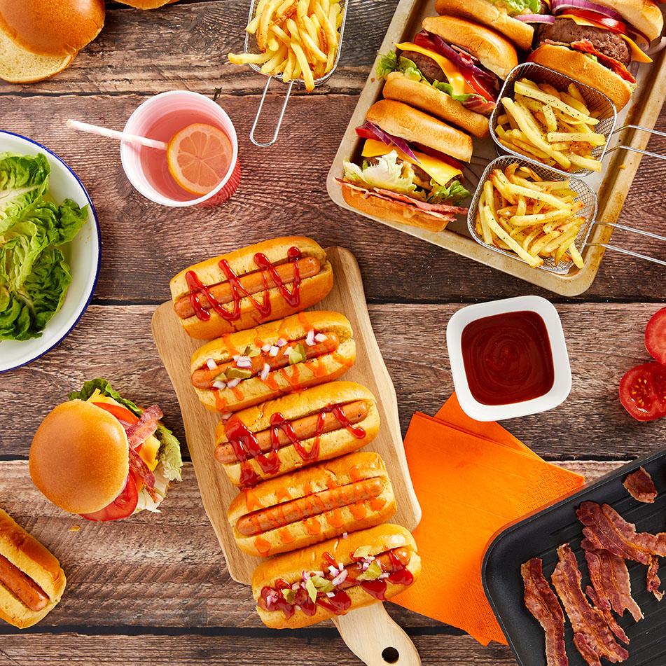 St Pierre Hot Dog Platter