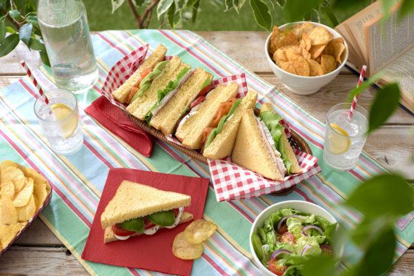 Loaf Sandwiches Summer Brioche Recipes