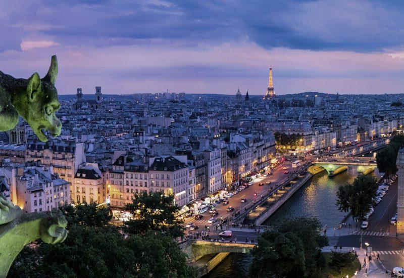 Paris Spooky Place - GargoyleParis Spooky Place - Gargoyle